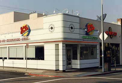 Johnny Rockets Building After